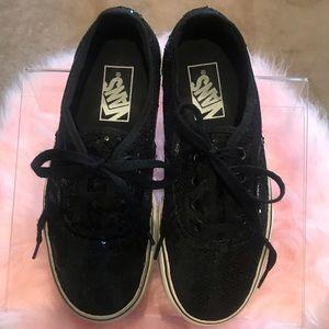 Vans, sequin sneakers